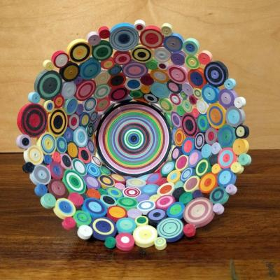 Paper Quilling Bowl