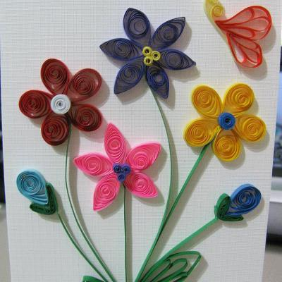 My First Quilling Project